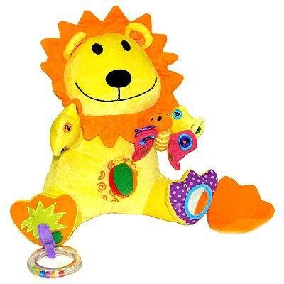 Мягкие игрушки Занятой лев, Biba Toys
