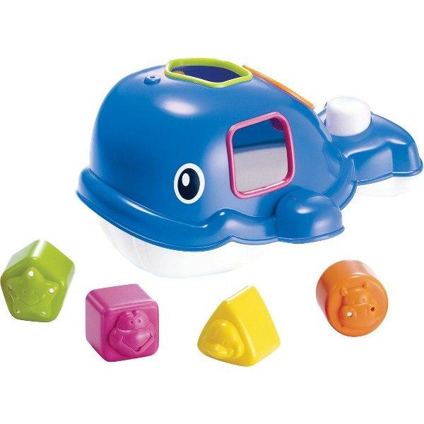 Игрушки для купания Игрушка для ванной Сортирующий кит, B kids