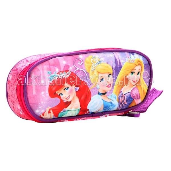 Пеналы Пенал на молнии Disney Принцессы 13PC-03-DPRI (50), Играем вместе
