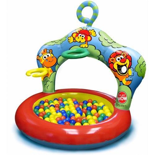 Игровые центры Сухой бассейн с шарами Джунгли, Play Wow