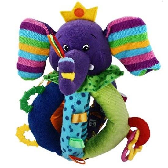 Развивающие игрушки Цветной слоник, Жирафики