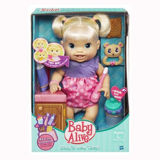 Куклы Baby Alive Малышка новые зубки, Hasbro