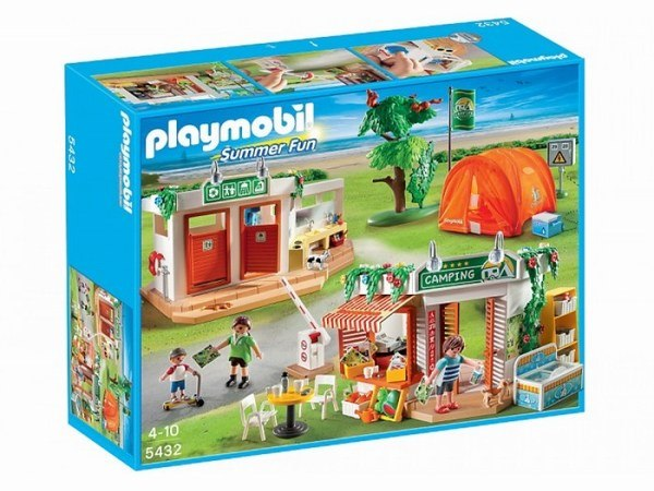 Игровые наборы Игровой набор Каникулы: Большой кемпинг, Playmobil