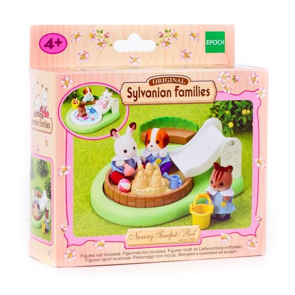 Игровые наборы Игровой набор Бассейн для малышей, Sylvanian Families