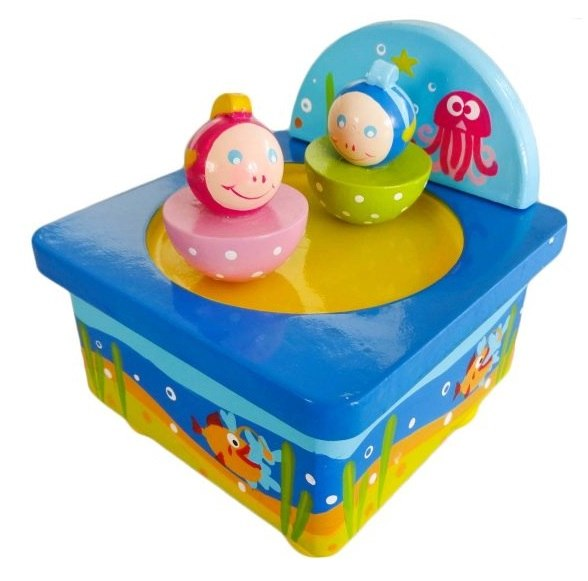 Деревянные игрушки Волшебная коробочка Подводный мир, Mapacha