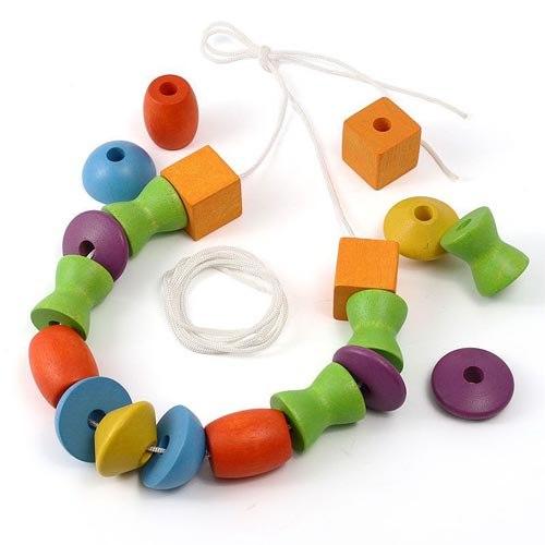 Деревянные игрушки Игра Собери бусы, Plan Toys