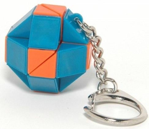 Игры для школьников Головоломка-брелок Змейка (24 элемента), Рубикс