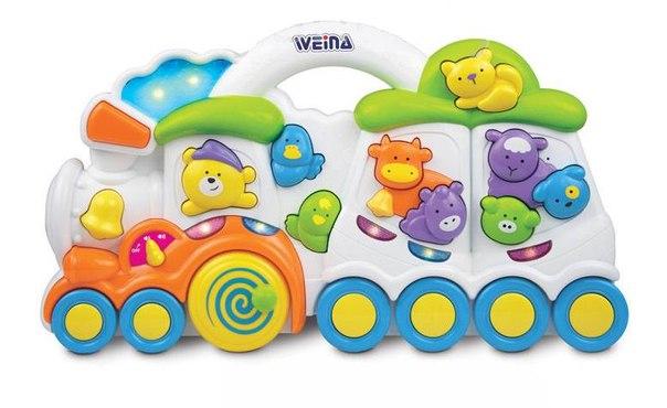Электронные игрушки Любимый паровозик, Weina
