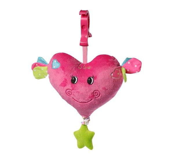 Подвесные игрушки Сердце, BabyOno
