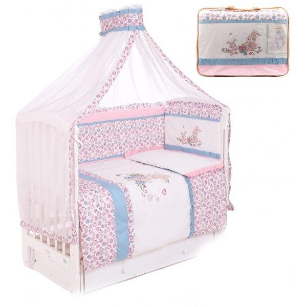 Комплекты для кроваток Сердце (7 предметов), Lider Kids