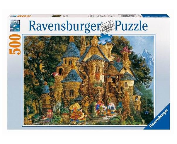Пазлы Пазл Школа волшебства 500 элементов, Ravensburger