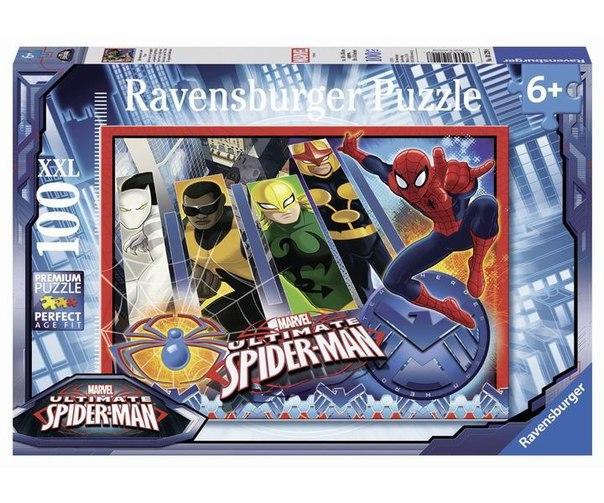 Пазлы Пазл Человек Паук и его команда 100 элементов, Ravensburger