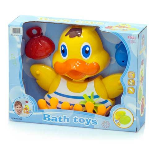 Игрушки для купания Утенок для игры в воде + 2 игрушки 8822, Ocie