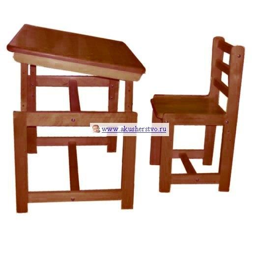 Столы и стулья Комплект детской мебели Растем вместе, Фея