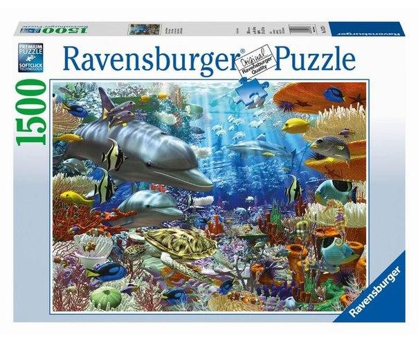 Пазлы Пазл Подводный мир 1500 элементов, Ravensburger