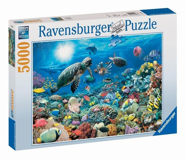 Пазлы Пазл Подводный мир 5000 элементов, Ravensburger