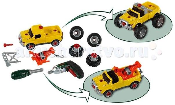 Машины Игровой набор Bosch Собери машинку 3 в 1, Klein