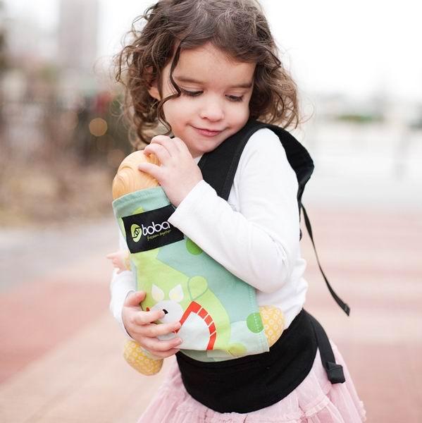 Сумки для детей Детский эрго-рюкзак для игрушек и кукол Mini Doll, Boba
