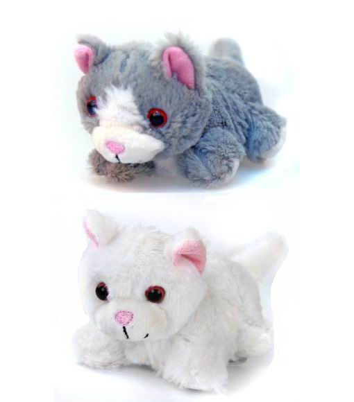 Интерактивные игрушки Котенок Мяу 16 см, Fluffy Family