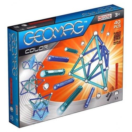 Конструкторы Магнитный 252 color 40, Geomag
