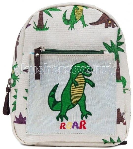 Сумки для детей Детский мини-рюкзак Dinosaur Walk, Pink Lining