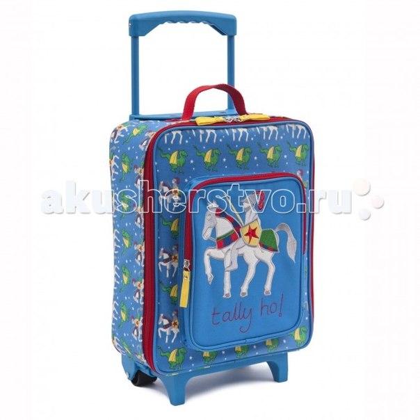 Сумки для детей Детский дорожный чемодан Knights & Dragon, Pink Lining