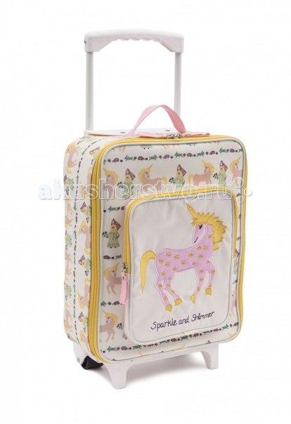 Сумки для детей Детский дорожный чемодан Damsels & Unicorns, Pink Lining