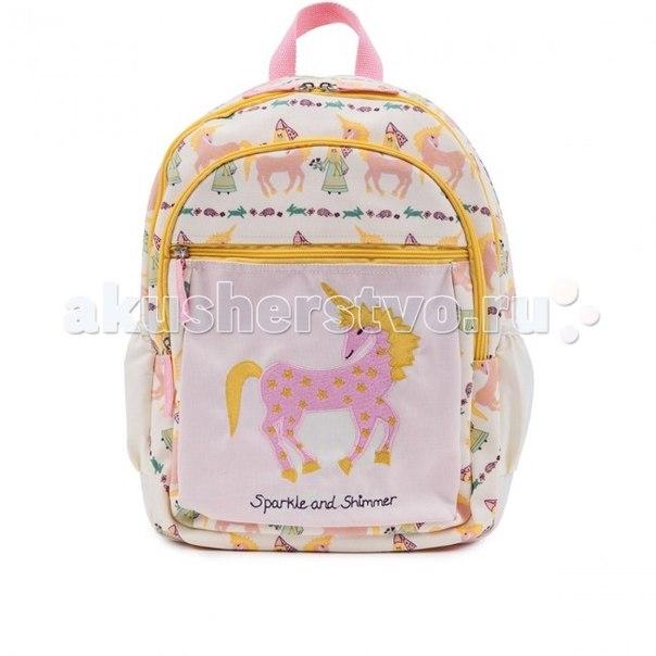 Сумки для детей Детский рюкзак Damsels & Unicorns, Pink Lining