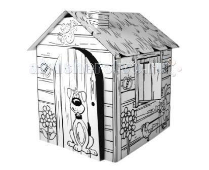 Палатки-домики Картонный домик-раскраска Веселая Ферма, CartonHouse