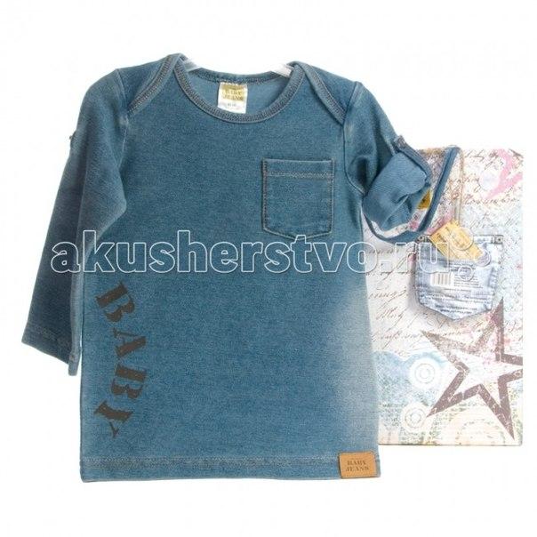Детский трикотаж Футболка Baby Jeans длинный рукав 62/68, Xplorys