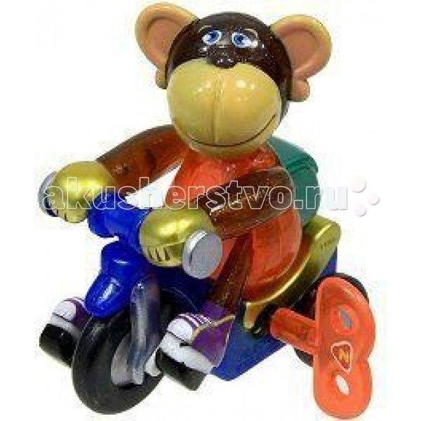 Заводные игрушки Заводная игрушка Мартышка на велосипеде мо, Z-Wind Ups