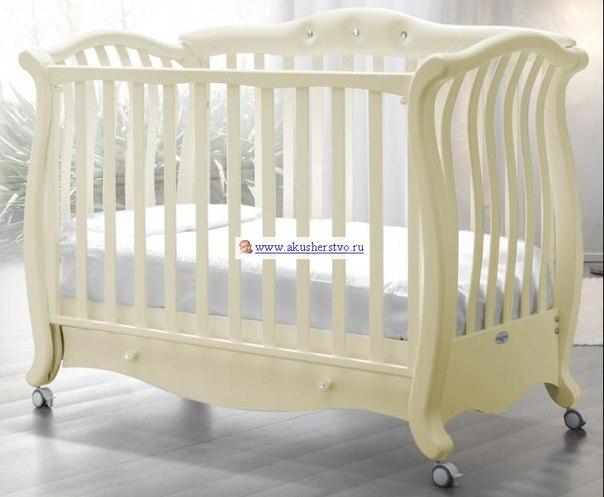 Детские кроватки Andrea VIP Pelle (качалка), Baby Italia
