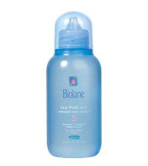 Косметика для малыша Очищающая жидкость с первых дней жизни 400 мл, Biolane