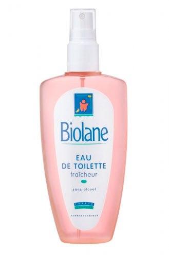 Косметика для малыша Освежающая туалетная вода с первых дней 200 мл, Biolane