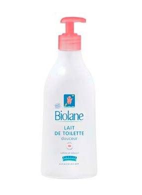 Косметика для малыша Нежное туалетное молочко для детей 200 мл, Biolane