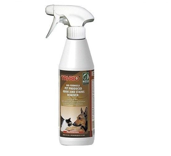 Моющие средства Биосредство от запахов и пятен от домашних животных 420 мл, Tri-Bio