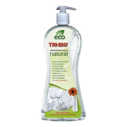 Моющие средства Натуральная Эко-жидкость для мытья посуды и рук 940 мл, Tri-Bio