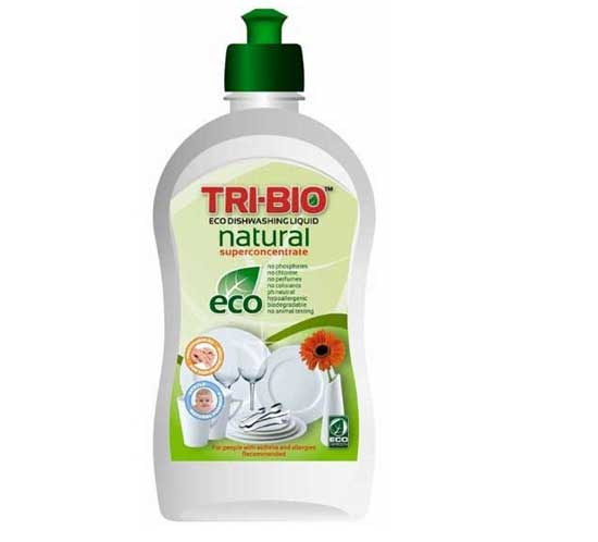 Моющие средства Натуральная Эко-жидкость для мытья посуды 420 мл, Tri-Bio