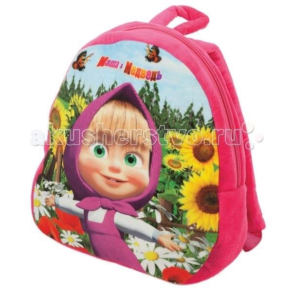 Сумки для детей Мягкий рюкзак Маша и Медведь, Мульти-пульти