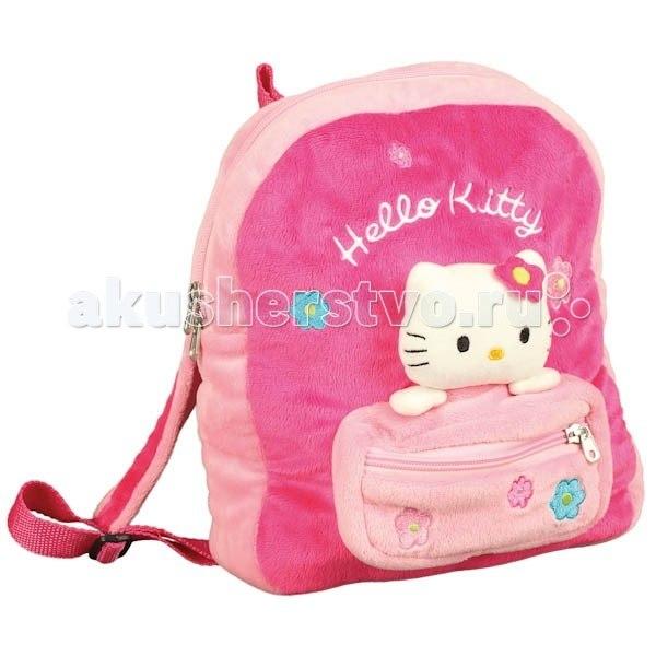 Сумки для детей Мягкий рюкзак Hello kitty V27338/27, Мульти-пульти