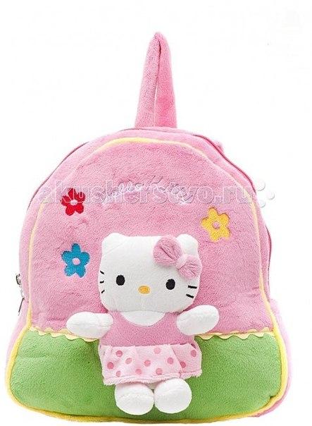 Сумки для детей Мягкий рюкзак Hello kitty с мягкой игрушкой, Мульти-пульти