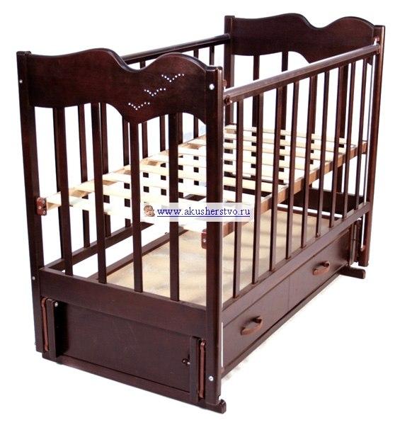 Детские кроватки Чайка (продольный маятник), Ведрусс