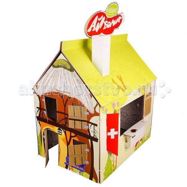Палатки-домики Детский домик-раскраска Сменный декор Доктор Айболит, Yoh-ho!