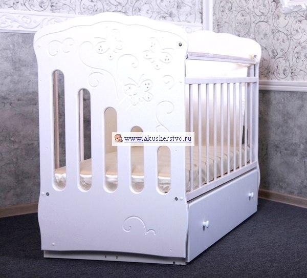 Детские кроватки Бабочки (маятник поперечный), Островок уюта