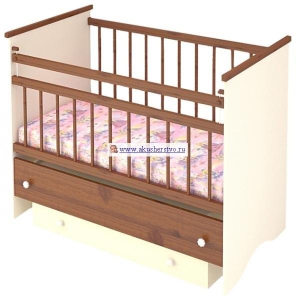 Детские кроватки Вероника (маятник продольный), Бэби Бум