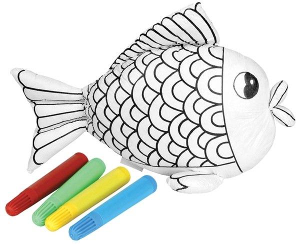Раскраски Рыбка-чудесница с набором фломастеров, Мир детства