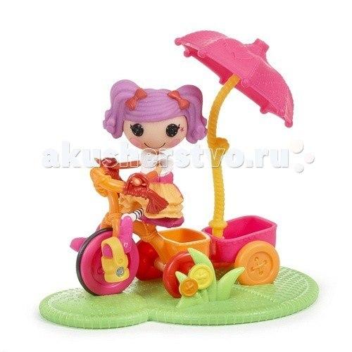 Игровые наборы Игравой набор Mini Веселый спорт Велосипед, Lalaloopsy