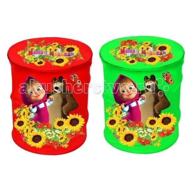 Ящики для игрушек Корзина для игрушек Маша и медведь X-19421, Играем вместе