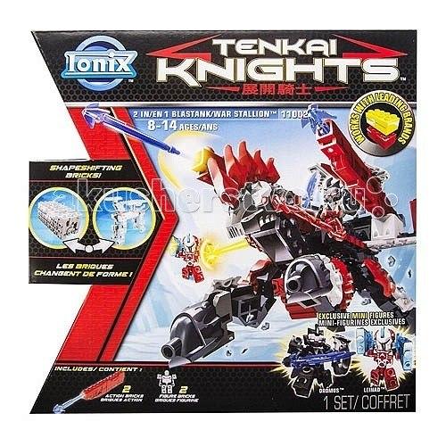 Конструкторы Tenkai Knights Фигурка-трансформер Танк-Боевой конь, Ionix