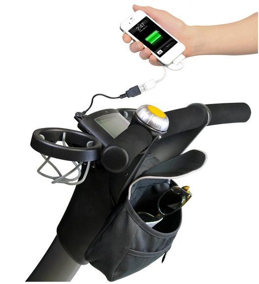 Аксессуары для колясок Сумка с зарядкой Origami, 4moms